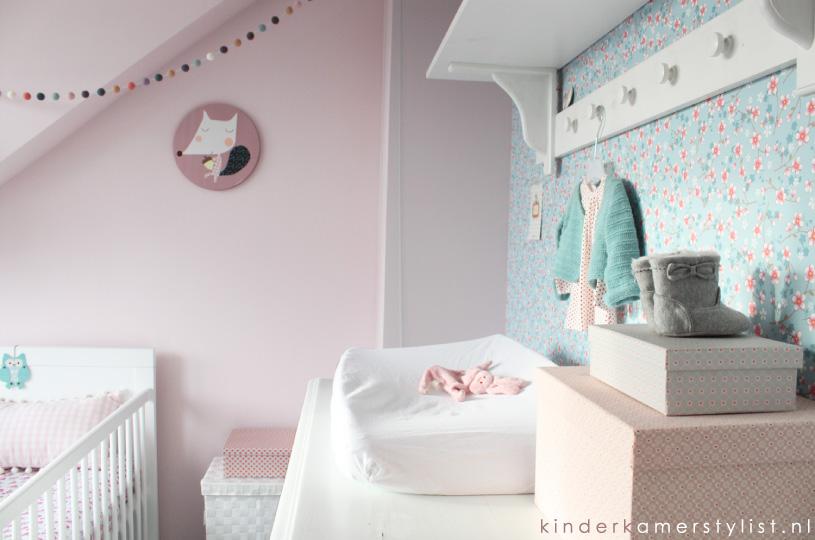Behang Kinderkamer Grijs : Kinderkamer trends u uiltje boompje beestje