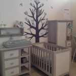 Behangboom bosboom behangdecoratie babykamer muurdecoratie kinderkamer behang vos