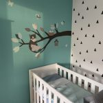 Poes behangdecoratie behang babykamer muursticker kinderkamer kat