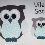 Uilen behangdecoratie mintgroen little dutch babykamer