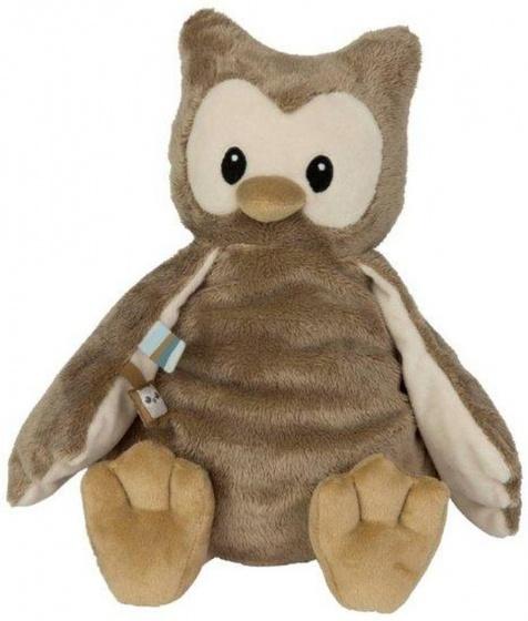 Uil knuffel pericles baby geboorte cadeau naamopdruk met naam uiltje babykamer
